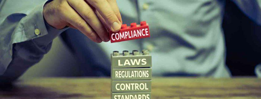 Compliance logo blocks